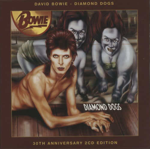 David Bowie Diamond Dogs 2 CD album set (Double CD) UK BOW2CDI619932