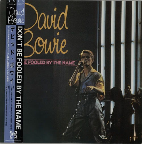 David Bowie Don't Be Fooled By The Name vinyl LP album (LP record) Japanese BOWLPDO256395