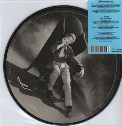 "David Bowie Fame - 40th Anniversary Edition - sealed 7"" vinyl picture disc 7 inch picture disc single UK BOW7PFA637123"