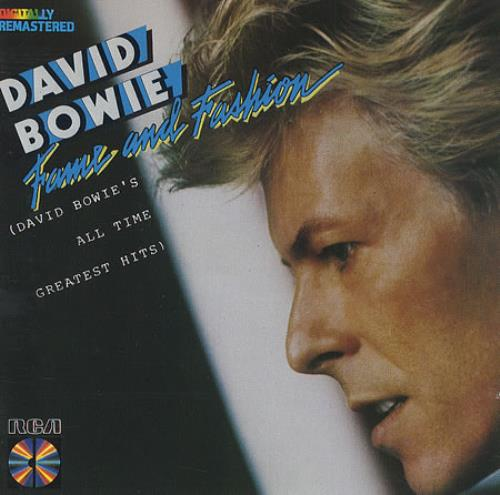 David Bowie Fame And Fashion - Withdrawn CD album (CDLP) UK BOWCDFA82095