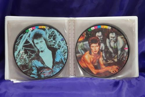 "David Bowie Fashions - EX 7"" vinyl picture disc 7 inch picture disc single UK BOW7PFA358230"
