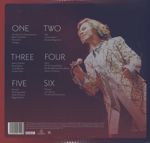 David Bowie Glastonbury 2000 - Sealed 3-LP vinyl record set (Triple Album) UK BOW3LGL751414