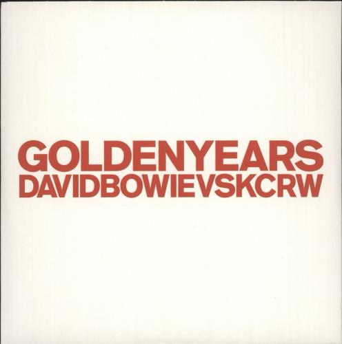 "David Bowie Golden Years CD single (CD5 / 5"") UK BOWC5GO535514"
