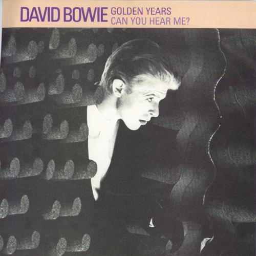 """David Bowie Golden Years 7"""" vinyl single (7 inch record) UK BOW07GO559662"""