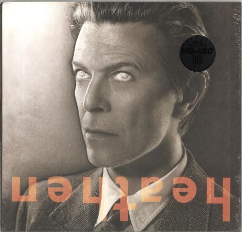 David Bowie Heathen - 180gram Black, White & Gray Vinyl - Sealed vinyl LP album (LP record) US BOWLPHE717376