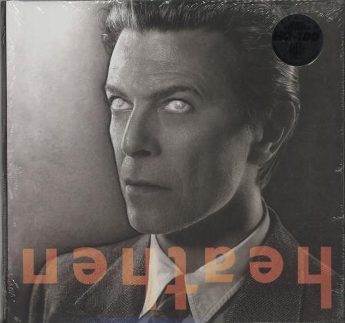 David Bowie Heathen - 180gram Blue Vinyl - Sealed vinyl LP album (LP record) US BOWLPHE656947