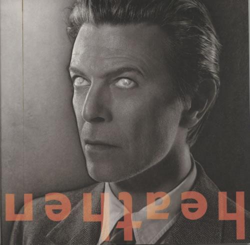 David Bowie Heathen CD album (CDLP) US BOWCDHE218909