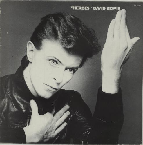 David Bowie Heroes - Italian Vinyl + Insert - EX vinyl LP album (LP record) UK BOWLPHE676897