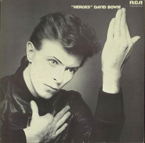 David Bowie Heroes vinyl LP album (LP record) UK BOWLPHE284599