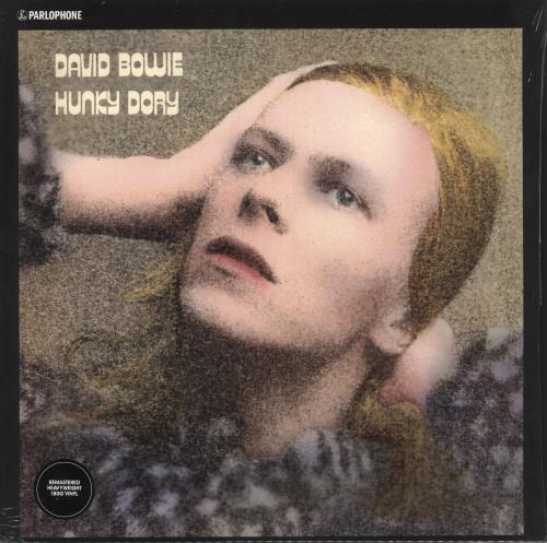 David Bowie Hunky Dory - 180gm + Shrink vinyl LP album (LP record) UK BOWLPHU743719