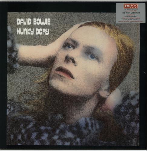 David Bowie Hunky Dory 180gm Uk Vinyl Lp Album Lp