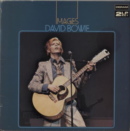 David Bowie Images - 80s UK 2-LP vinyl record set (Double Album)