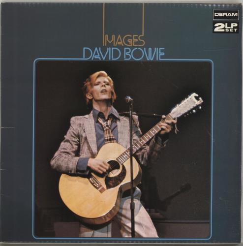 David Bowie Images - EX 2-LP vinyl record set (Double Album) UK BOW2LIM698723