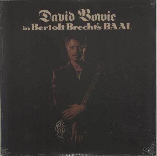 "David Bowie In Bertolt Brecht's Baal - Sealed 10"" vinyl single (10"" record) UK BOW10IN699007"