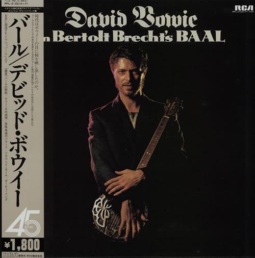 "David Bowie In Bertolt Brecht's Baal 12"" vinyl single (12 inch record / Maxi-single) Japanese BOW12IN130835"