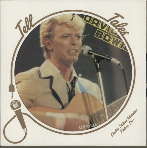 David Bowie Interview Picture Disc picture disc LP (vinyl picture disc album) UK BOWPDIN336795