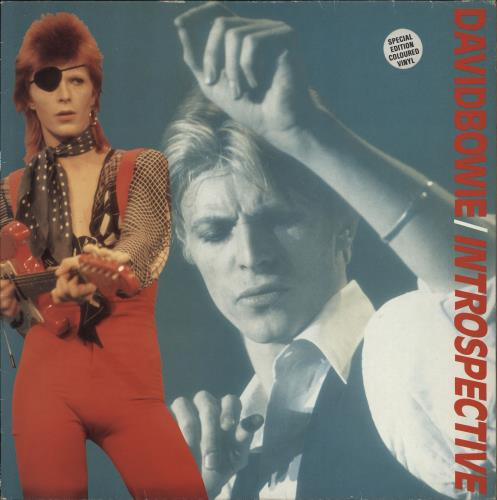 David Bowie Introspective - Clear Vinyl - EX vinyl LP album (LP record) UK BOWLPIN766976