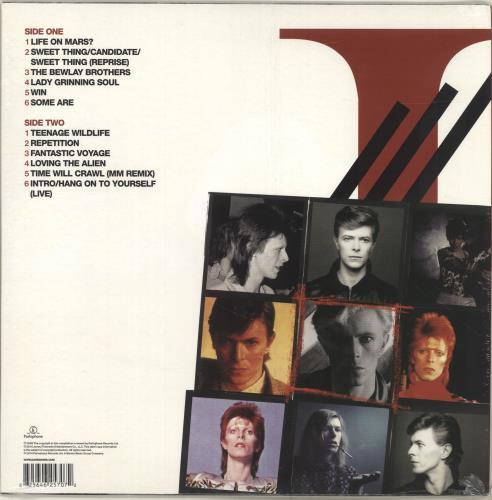 David Bowie iSelect - V&A Red Vinyl - Sealed vinyl LP album (LP record) French BOWLPIS627797