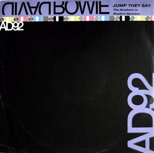 """David Bowie Jump They Say - Brothers In Rhythm 12"""" vinyl single (12 inch record / Maxi-single) UK BOW12JU15288"""