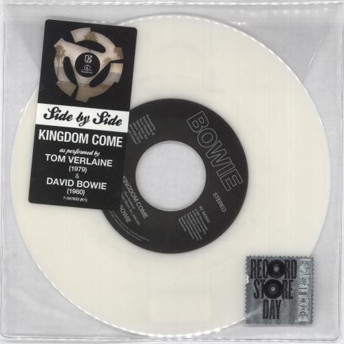 "David Bowie Kingdom Come - Sealed 7"" vinyl single (7 inch record) UK BOW07KI725793"