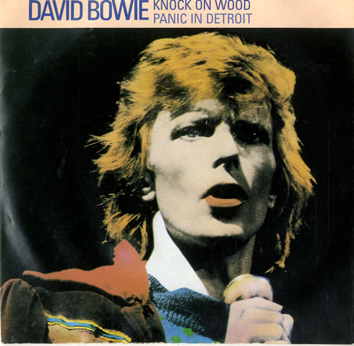 """David Bowie Knock On Wood 7"""" vinyl single (7 inch record) UK BOW07KN598815"""