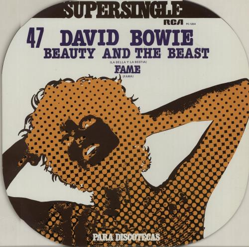 "David Bowie La Bella Y La Bestia 12"" vinyl single (12 inch record / Maxi-single) Spanish BOW12BE208392"
