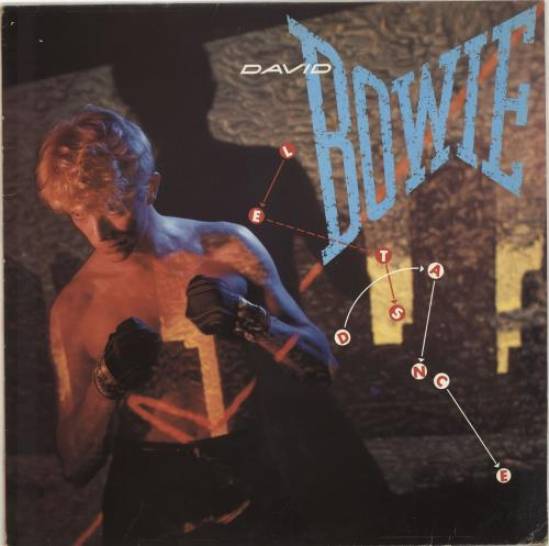 David Bowie Let's Dance - EX vinyl LP album (LP record) UK BOWLPLE685036
