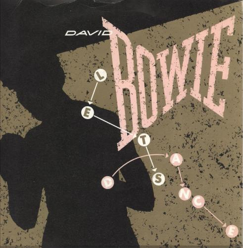 "David Bowie Let's Dance - Factory Sample 7"" vinyl single (7 inch record) UK BOW07LE739803"