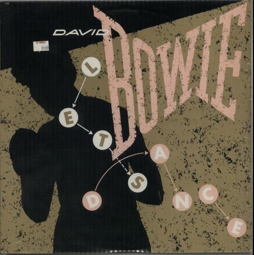 """David Bowie Let's Dance - Sealed 12"""" vinyl single (12 inch record / Maxi-single) US BOW12LE650669"""