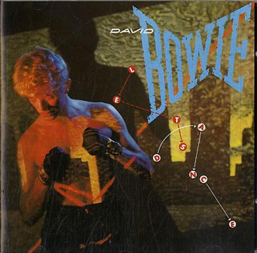 David Bowie Let's Dance CD album (CDLP) UK BOWCDLE210683