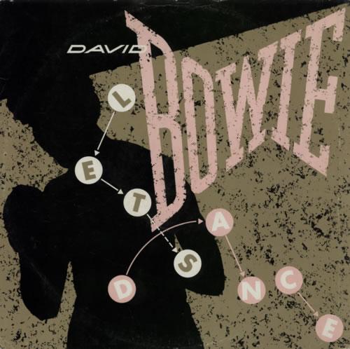 "David Bowie Let's Dance 12"" vinyl single (12 inch record / Maxi-single) UK BOW12LE26422"