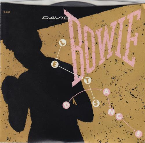"David Bowie Let's Dance 7"" vinyl single (7 inch record) US BOW07LE650495"
