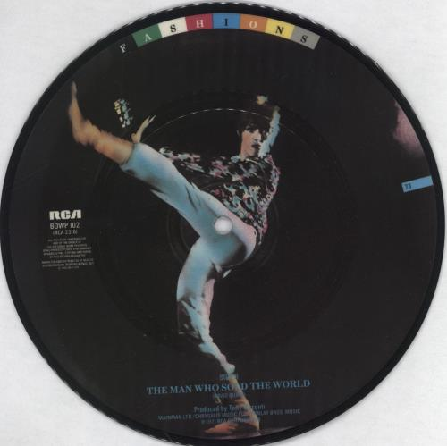 """David Bowie Life On Mars 7"""" vinyl picture disc 7 inch picture disc single UK BOW7PLI767165"""