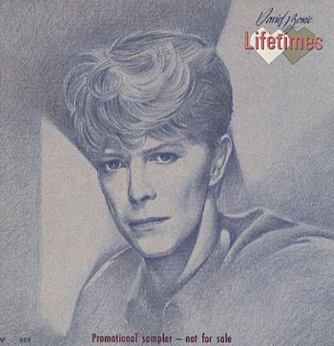 David Bowie Lifetimes + booklet vinyl LP album (LP record) UK BOWLPLI36486