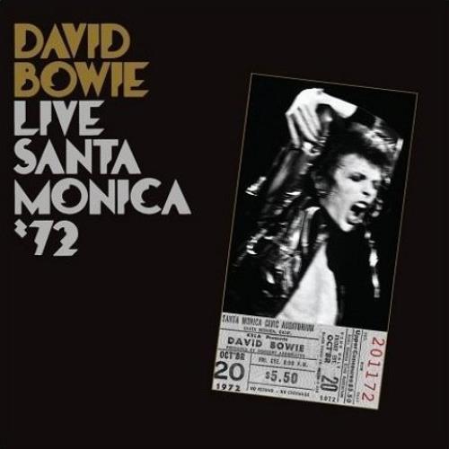 David Bowie Live In Santa Monica '72 CD album (CDLP) UK BOWCDLI449658