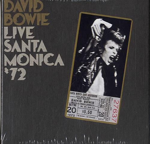 David Bowie Live Santa Monica '72 - Sealed CD album (CDLP) UK BOWCDLI433859
