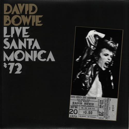 David Bowie Live Santa Monica '72 2-LP vinyl record set (Double Album) UK BOW2LLI578937