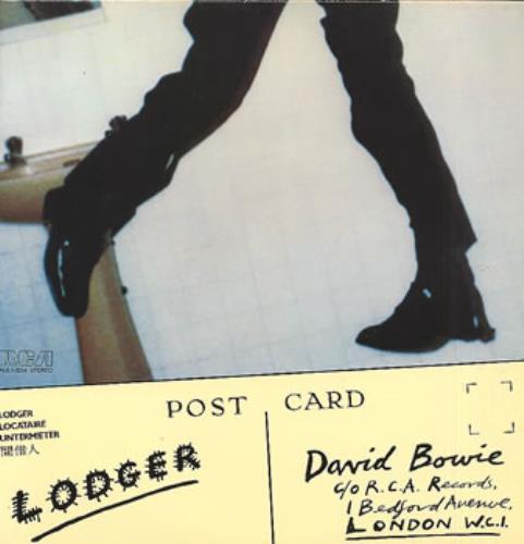 David Bowie Lodger vinyl LP album (LP record) Canadian BOWLPLO318170