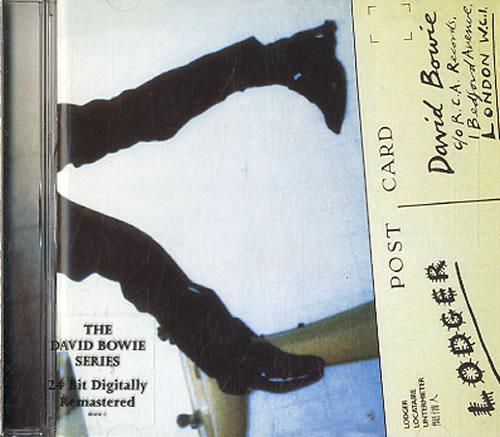 David Bowie Lodger Uk Cd Album Cdlp 593459