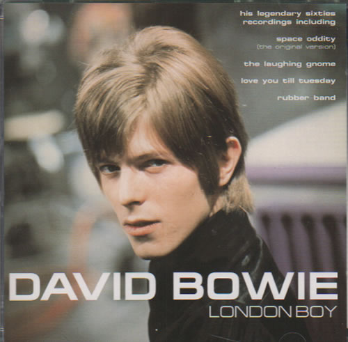 David Bowie London Boy CD album (CDLP) UK BOWCDLO250819