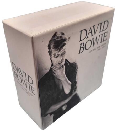 David Bowie Loving The Alien (1983 - 1988) CD Album Box Set UK BOWDXLO743656