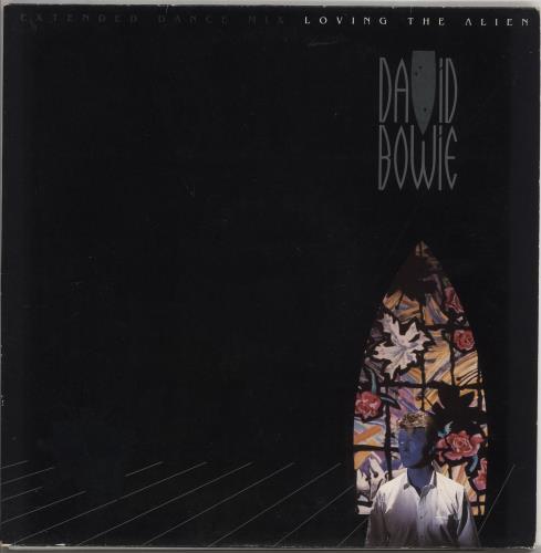 "David Bowie Loving The Alien + Poster - VG 12"" vinyl single (12 inch record / Maxi-single) UK BOW12LO727665"