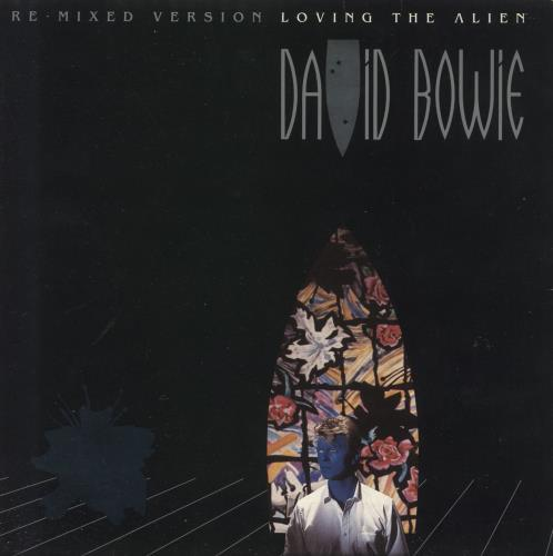 """David Bowie Loving The Alien - G/F - Solid - Factory Sample 7"""" vinyl single (7 inch record) UK BOW07LO739804"""