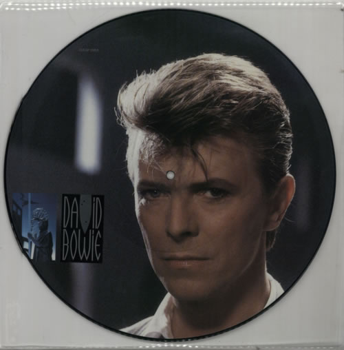 """David Bowie Loving The Alien 12"""" vinyl picture disc 12inch picture disc record UK BOW2PLO10609"""