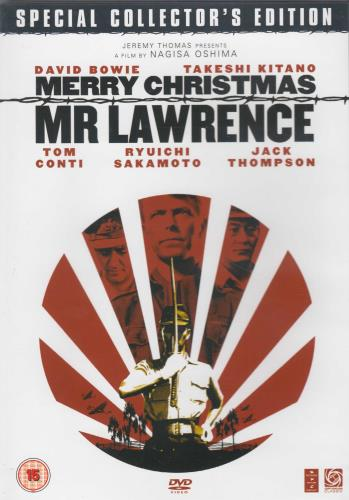 David Bowie Merry Christmas Mr Lawrence DVD UK BOWDDME334068