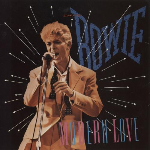 """David Bowie Modern Love - Solid 7"""" vinyl single (7 inch record) UK BOW07MO609173"""