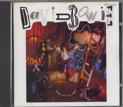David Bowie Never Let Me Down - 1st Issue CD album (CDLP) Japanese BOWCDNE360649