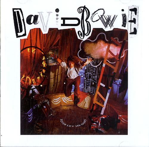 David Bowie Never Let Me Down CD album (CDLP) UK BOWCDNE213669
