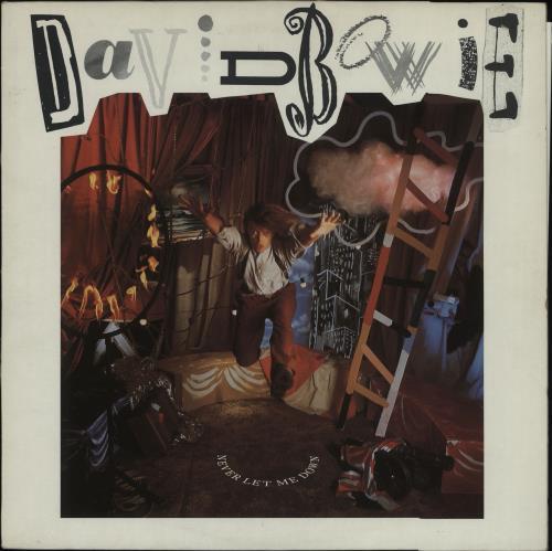David Bowie Never Let Me Down vinyl LP album (LP record) UK BOWLPNE245173