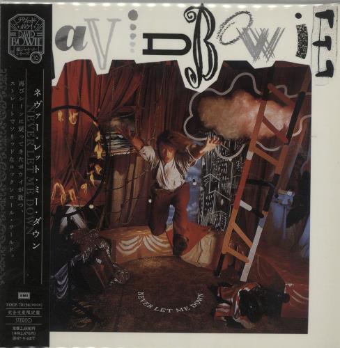 David Bowie Never Let Me Down CD album (CDLP) Japanese BOWCDNE391156